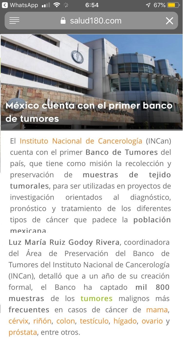 tumor bank