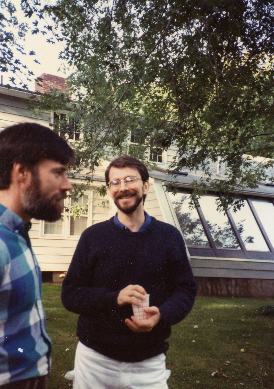 Ed Hackett and David Hess