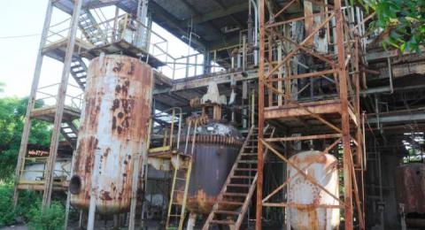 Union Carbide plant, Bhopal, 2016