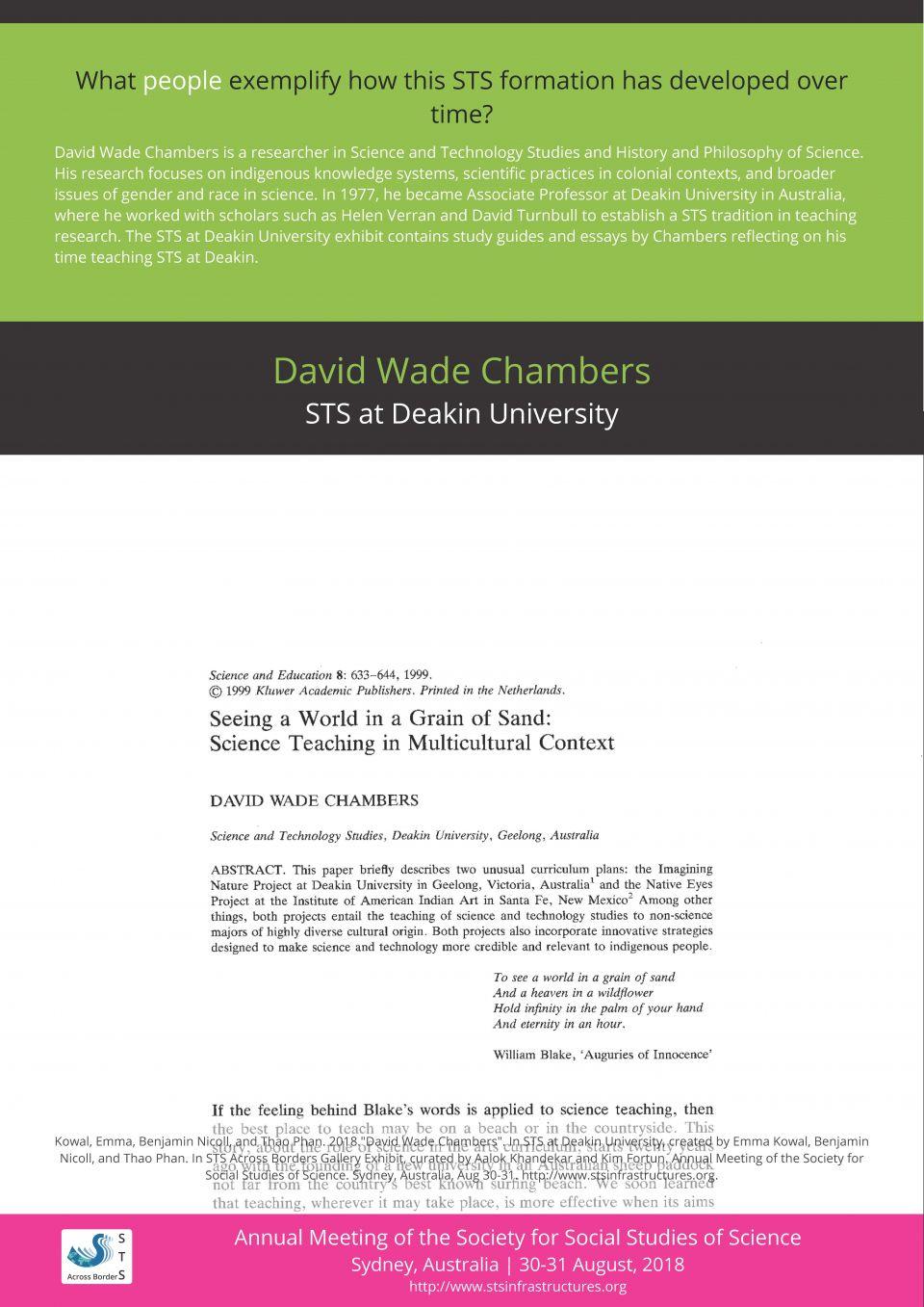 David Wade Chambers