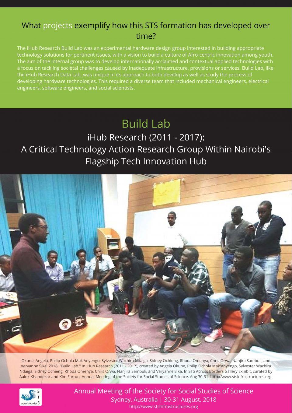iHub Build Lab