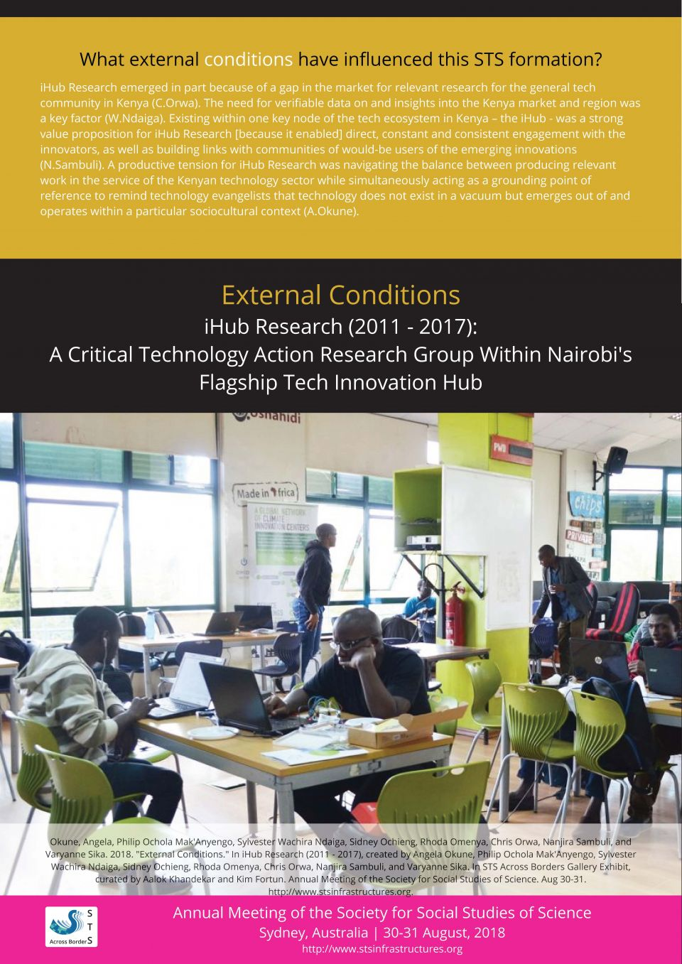 iHub External Conditions