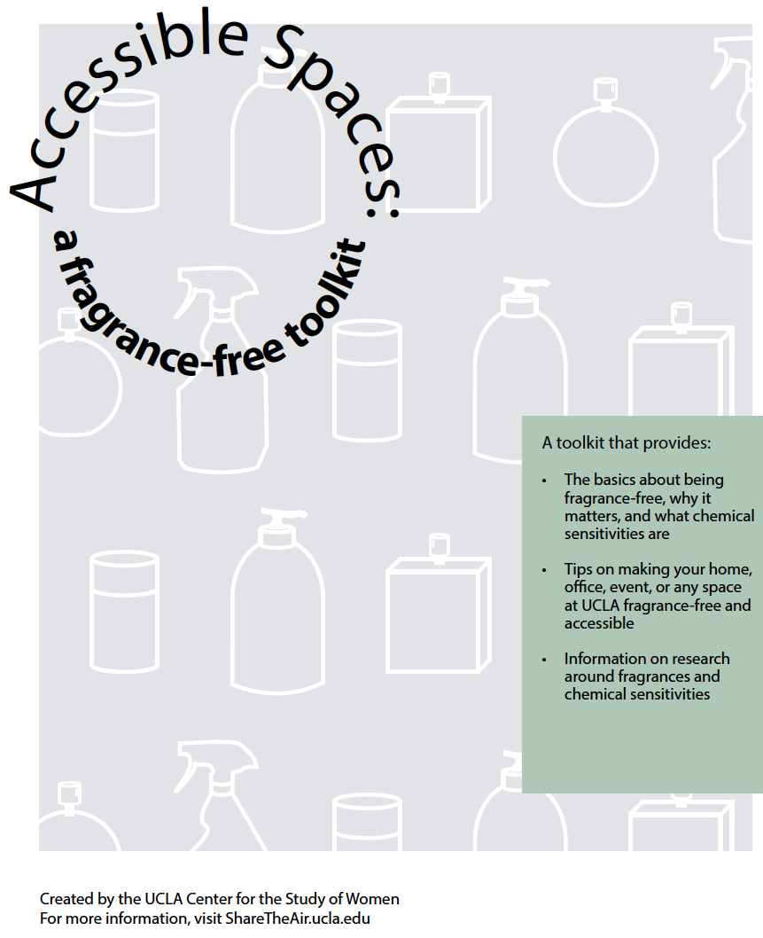 """The cover of """"Accessible Spaces: A Fragrance Free Toolkit"""""""