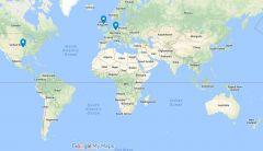 1970s STHV Author Geo-location Data