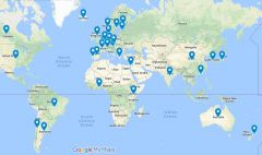 2010s STHV Author Geo-location Data