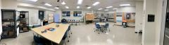 A panoramic view of the new STS Futures Lab