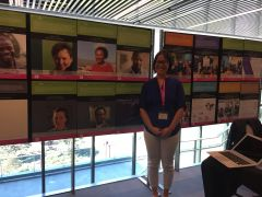 "Angela Okune with iHub and STS in ""Africa"" exhibits"