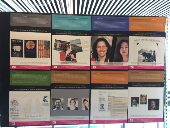 STS in Anthropology at University of California Irvine exhibit booth