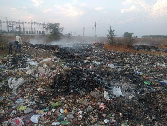 Dump yard - Kandi