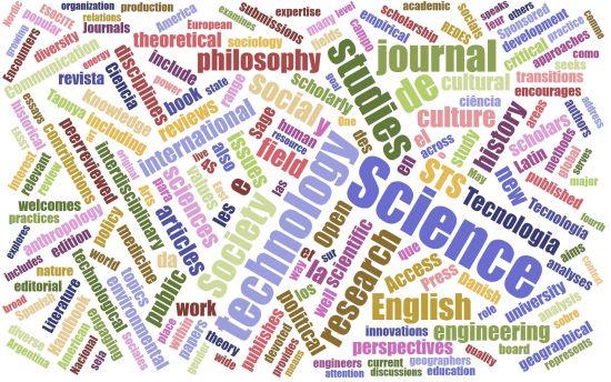 STS Publications Word Cloud