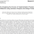"""Image of front page of research article, """"Co-Imagining the Futures of Implementation Precision Medicine Using Scenario Analysis and Design Fiction"""" in Omics A Journal of Integrative Biology, 2019"""