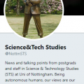 ISS Twitter Profile